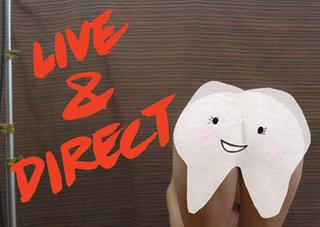 Happy Tooth Cartoon Advert, Amanda Curreri
