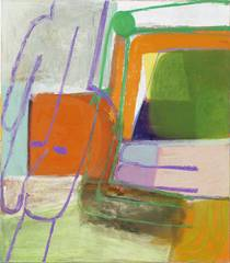 untitled (finger), Amy Sillman