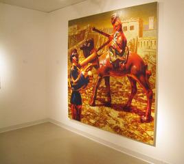 Partisan 2009 Installation , Peter Drake