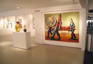 Partisan 2009 Installation, Peter Drake