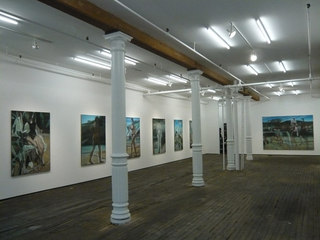 Exhibition View, Marc Desgrandchamps