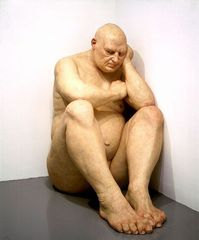 Untitled (Big Man), Ron Mueck