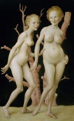 The Pink Tree, John Currin