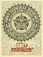 Cash For Chaos,Shepard Fairey