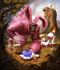 An Ape Allegory, Todd Schorr