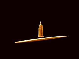 Miniature Empire State Building,Steven J. Backman