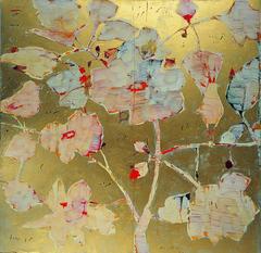 Reza_derakshani__rose_and_nightingale__2007__mied_media_on_canvas__150x150cm