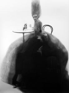 More_eccentrickery_1_charcoal_on_paper_80_x59