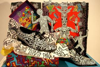 Keith Haring Steps Out,Robert Quijada
