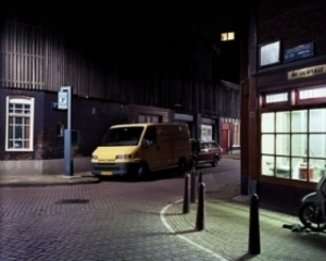 Yellow Van, from the series Night, Carl Wooley