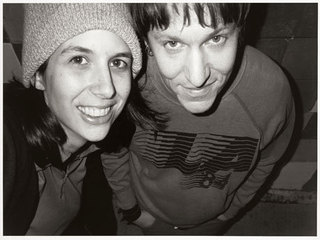 Autumn de Wilde and Elliott Smith,