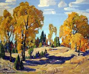 Autumn Near Big Bear Lake, Paul Lauritz