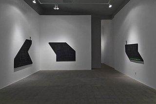 Black Blacker Blackest (installation detail), Steve Canaday