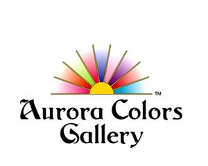 Aurora Colors logo,