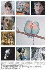 Bird Beak Group Show Postcard,