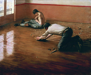 The Floor Scrapers,Gustave Caillebotte