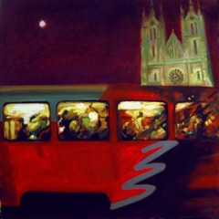 Prague Tram No.2, Harry Bell