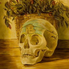 Empty house head, Jude Griebel