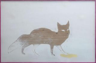 Untitled (Fox) ,Robert Elfgen