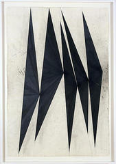 Untitled (Dancing Black Butterflies) (panel 9 of 9), Mark Grotjahn