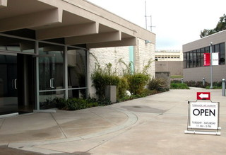 Torrance Art Museum - exterior shot,