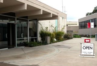 Torrance Art Museum - exterior shot,