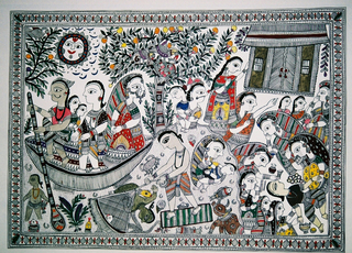 Flood in Madhubani - the rich padlock their home and flee; the poor are left to collect and mourn the dead, Dulari Devi