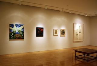 Installation View , Gregory Amenoff, Brett Bigbee, Loren MacIver, Vincent Smith