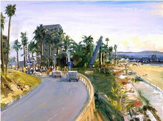 View of the California Incline, Larry Cohen