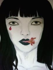 Self_portrait_with_flower