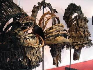 the fear was hidden behind...(5 masks), Kathy Kelley