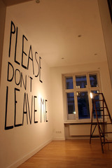 Please don\'t laugh at me (installation shot),Ryan Weber