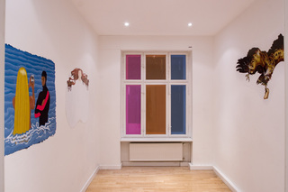 Sticky Prism (Installation View),Martin Esteves