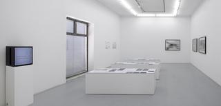 Installation view, Sean Snyder