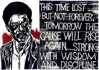 Bobby Seale,Frank Rowe (1921 - 1985)