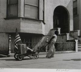 Boy & Wagon, David Johnson