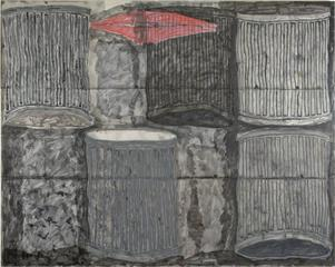 5 Trash Cans,John Finneran