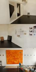 Adam Pendleton's studio, Dawit Petros's studio, Khalif Kelly's studio,
