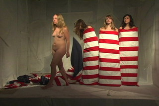 Flag Girls (still), Jen DeNike