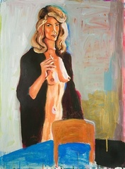 Untitled (Study of Charlotte Rampling 1974), Karen Heagle