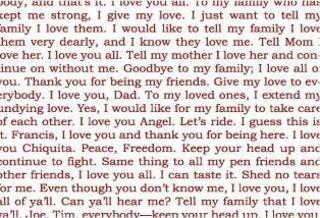 Last Words, Luis Camnitzer