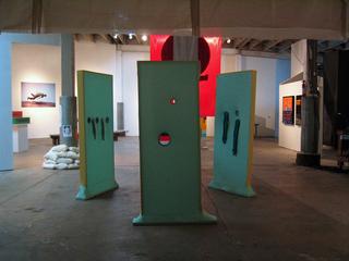 shape exhibition , Whitney Lynn, ben venom, eliza fernand
