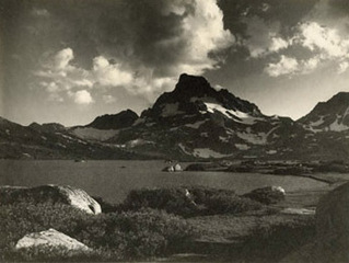 Banner Peak, Thousand Island Lake, Ansel Adams