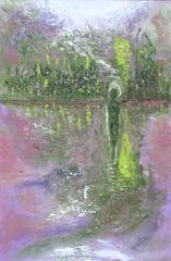 LUMINOSITY #9  THE LAKE, Eva Montealegre