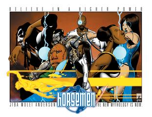 Horsemen Graphic Novel, Jiba Molei Anderson
