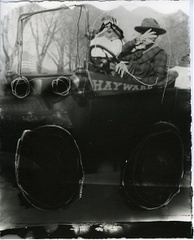 Untitled (Couple in Buggy), Gerald Slota