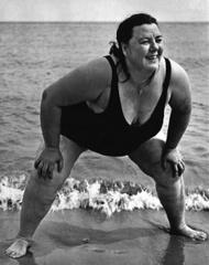 Coney Island Bather, New York, 1942, Lisette Model