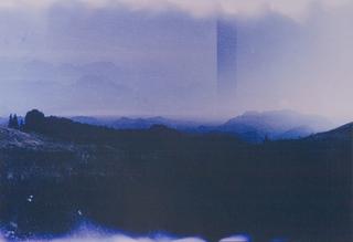 Dropped Landscape (Blue), Moritz Hirsch