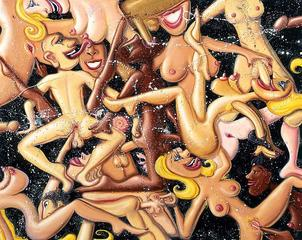 Space Orgy , Kenny Scharf
