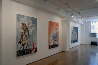 The Formulaic Nature of Appearances (Installation View), Nicky Nodjoumi